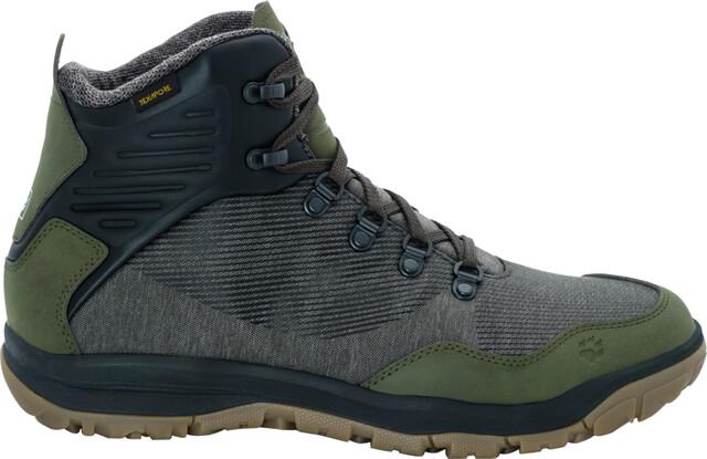 Herren Wolfskin Wonders Seven Jack Mid Texapore Shoes Pinewood qUpMVSzLG